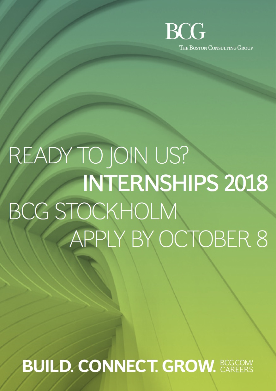 BCG Internship